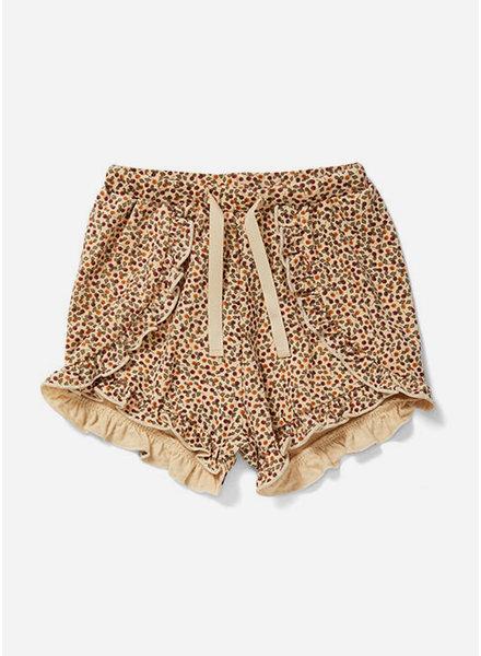 Konges Slojd reya frill shorts rosaraie red