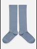 Collegien kniekous bleu azur