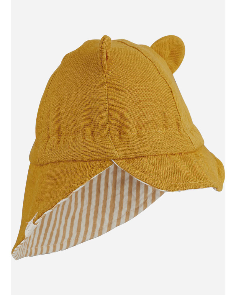 Liewood cosmo sun hat mustard