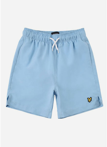 Lyle & Scott classic swim shorts sky blue