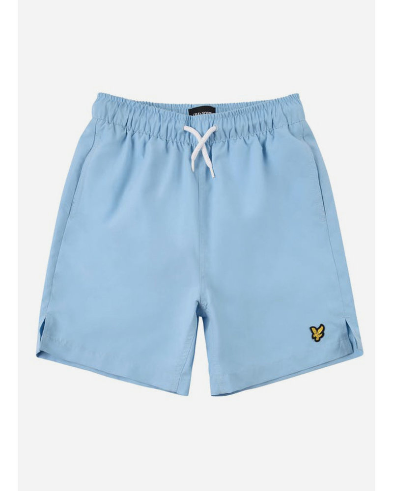 Lyle & Scott classic swim shorts sky blue