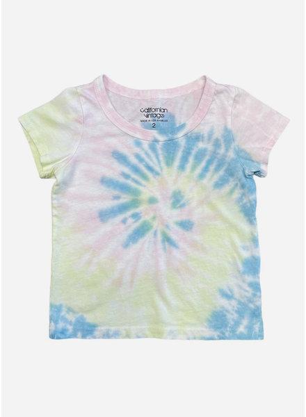 Californian Vintage shirt tie dye multi