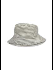 Konges Slojd aster bucket hat light blue stripe