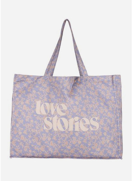 Love Stories twill bag batik floral