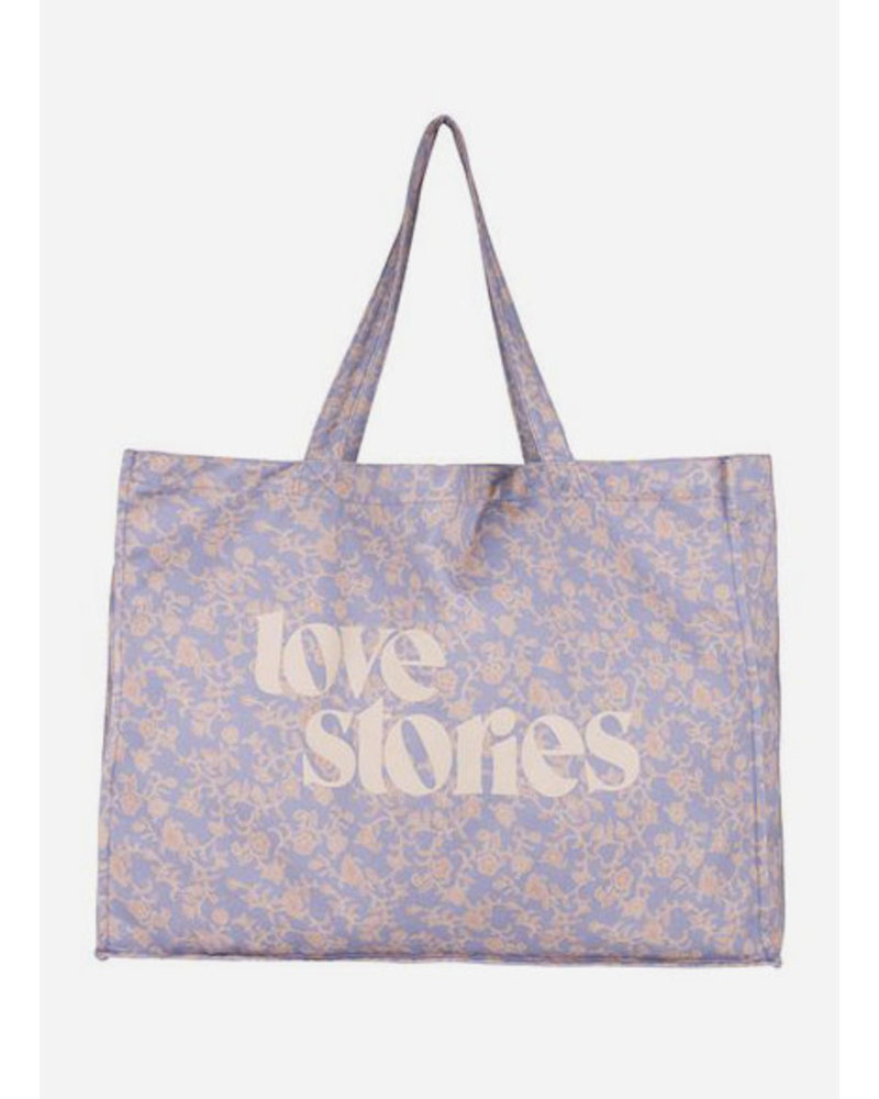 Love Stories twill bag batik floral