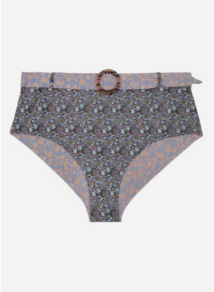 Love Stories moonflower dusty floral brief bikini