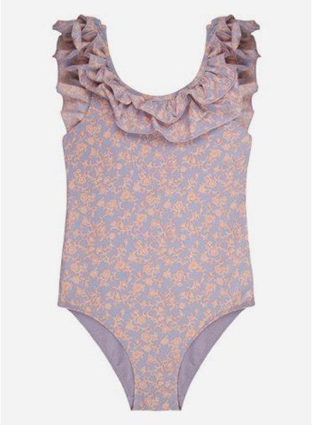 Love Stories mini ruby batik floral top bathingsuit