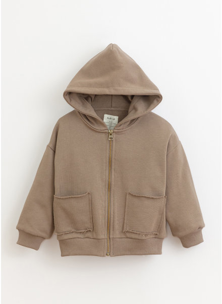 Play Up * fleece jacket - pinha - 3AI11400 - P8064