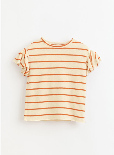 Play Up * striped jersey tshirt - anise - 4AI11051 - R255O