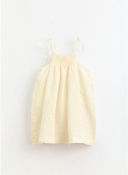 Play Up * linen dress - dandelion - 4AI11454 - P0058