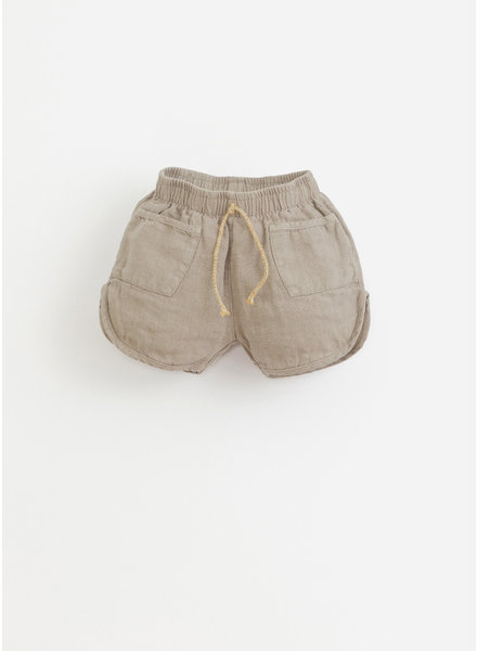 Play Up * linen shorts -  bicho - 1AI11703 - P8063