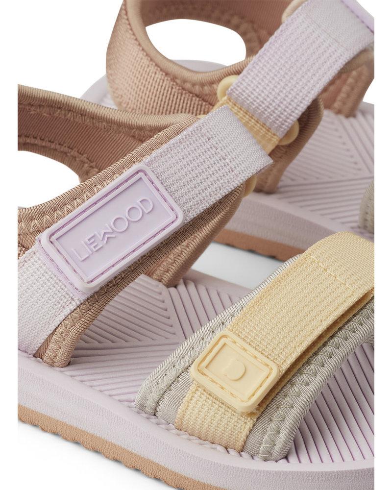 Liewood monty sandals lavender multi mix