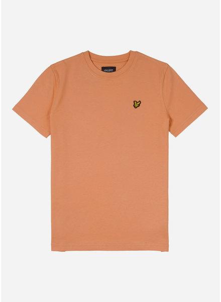 Lyle & Scott classic t-shirt pumpkin