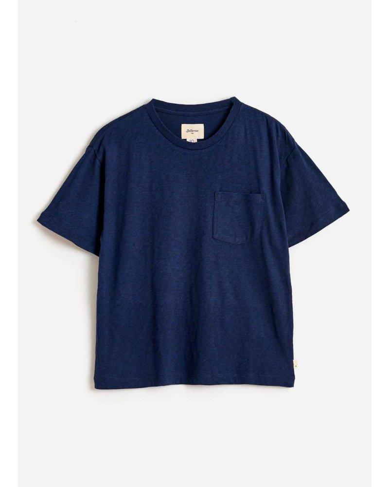 Bellerose aldo tshirt blue nights
