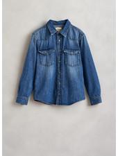 Bellerose pei shirts blue stone