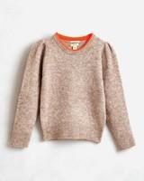 Bellerose nial knitwear beige melange