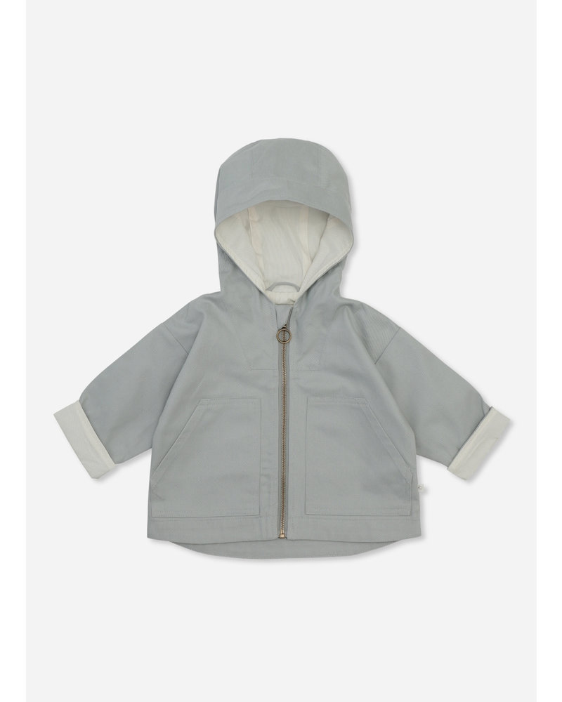 Konges Slojd billie jacket quarry blue
