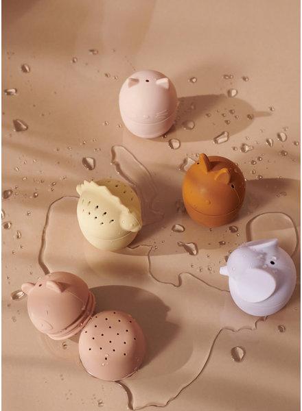 Liewood gaby bath toys rose multi mix