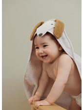 Liewood albert hooded towel dog sandy