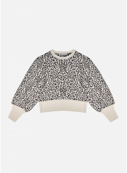 The New Society rose jumper leopard