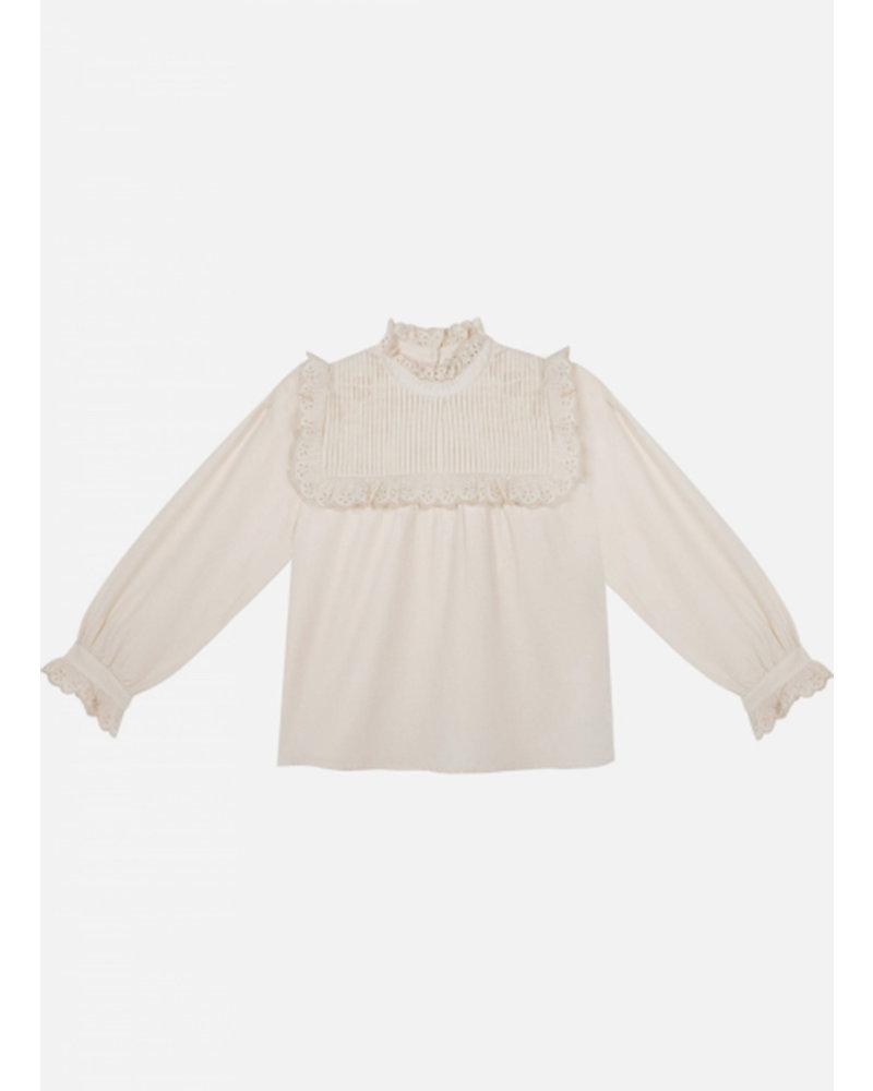 The New Society violeta blouse viyella natural
