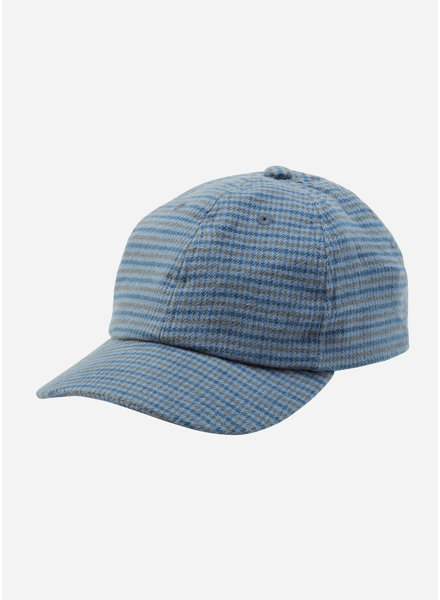 Mingo flanel cap british blue check