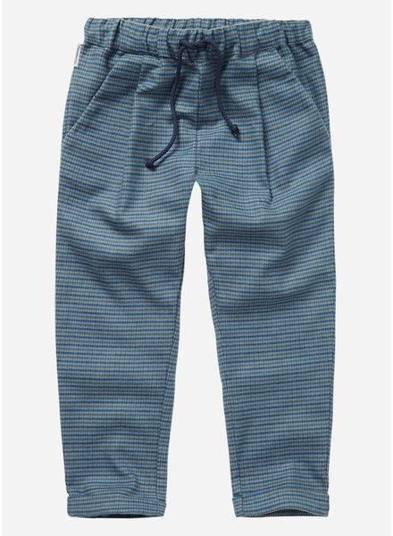 Mingo flanel trouser british blue check