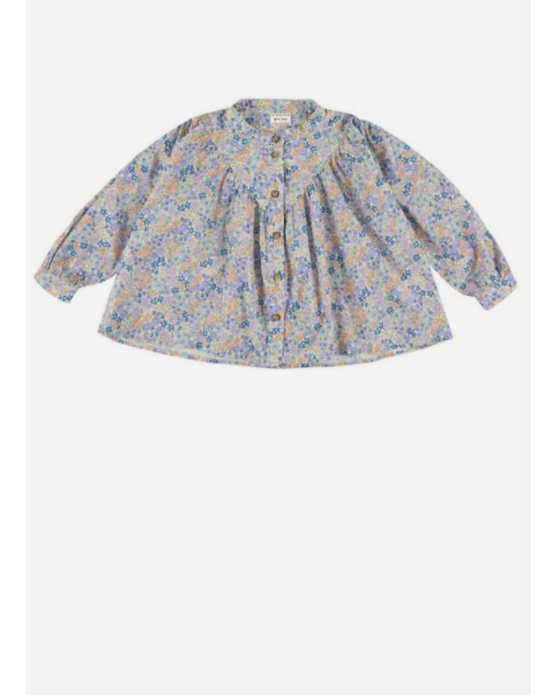 Morley opale liberty bleu girlsshirt