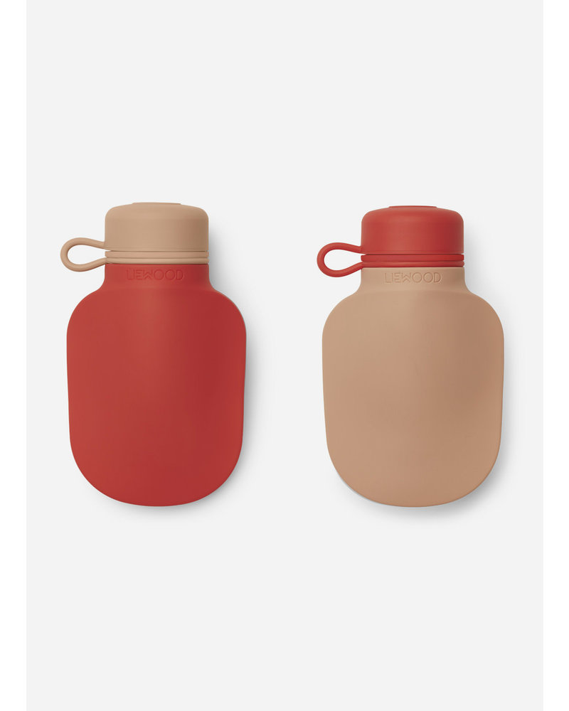 Liewood silvia smoothie bottle   apple red / tuscany rose