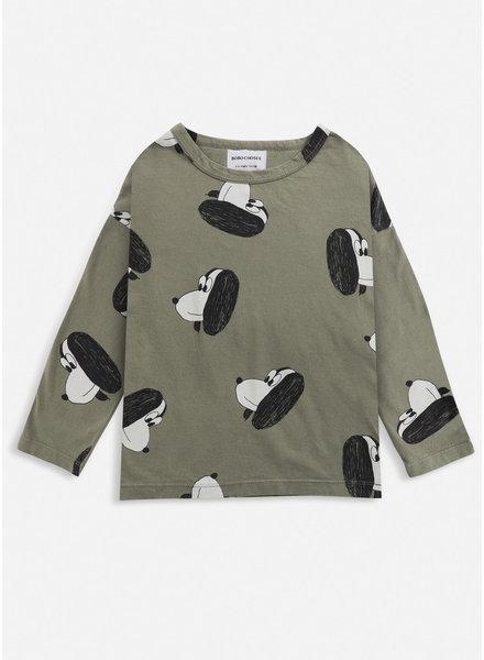 Bobo Choses doggie all over long sleeve tshirt