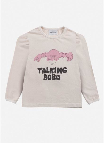 Bobo Choses girl talk girl tshirt