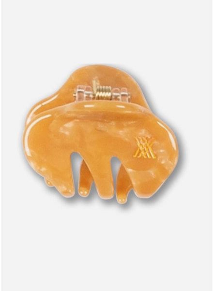 Repose hair clamp caramel