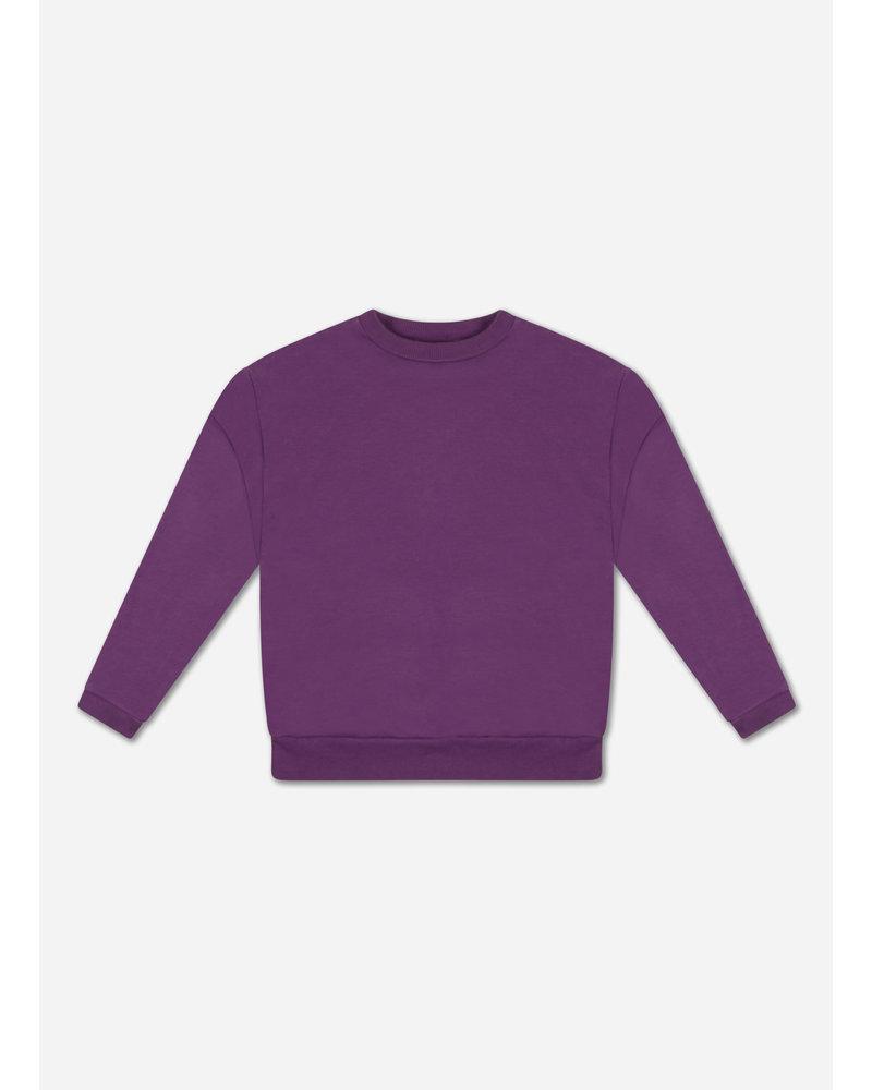 Repose crewneck sweater purple magic