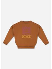 Repose crewneck sweater glazed caramel