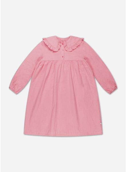 Repose fancy collar dress bubble gum