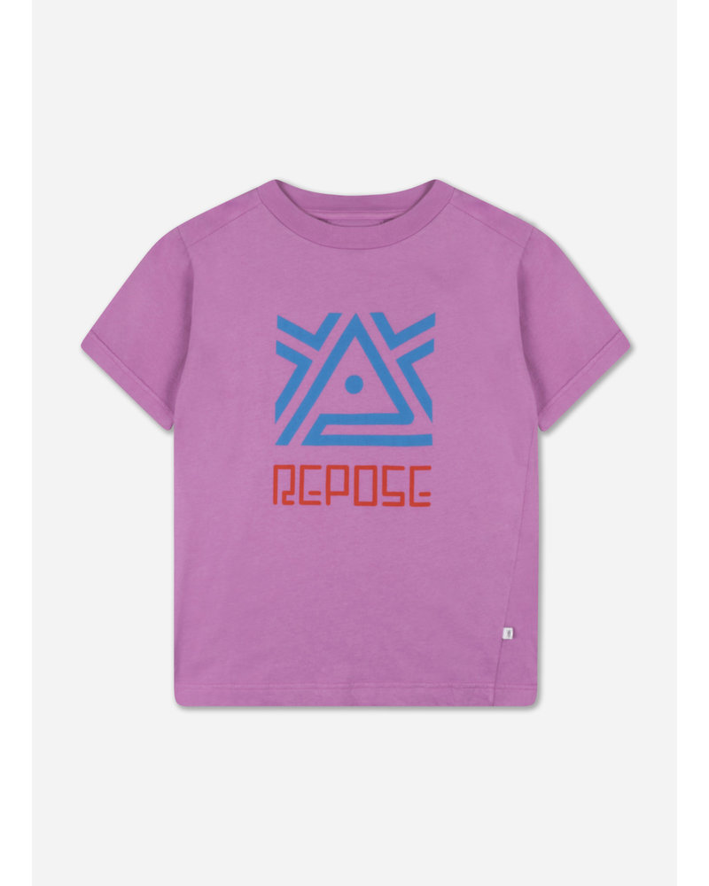 Repose tee shirt violet orchid