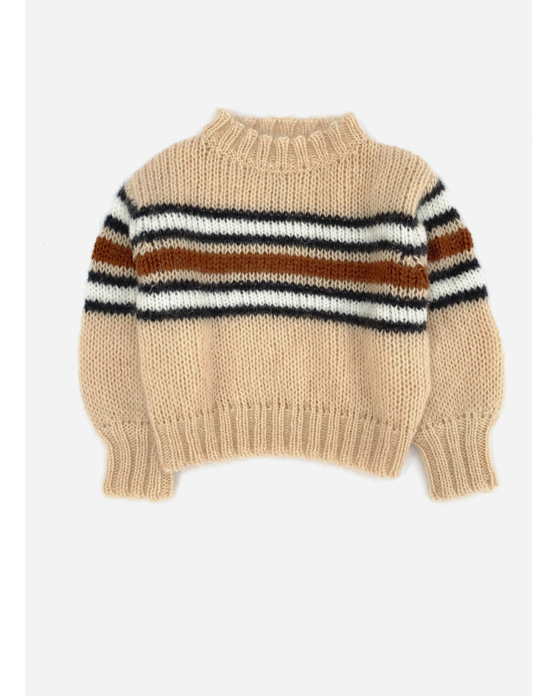 Long Live The Queen striped sweater 834