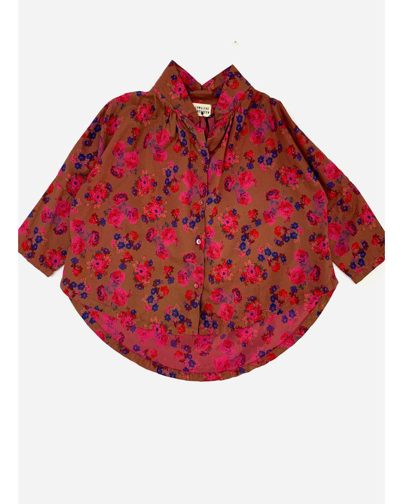 Long Live The Queen collar blouse 839