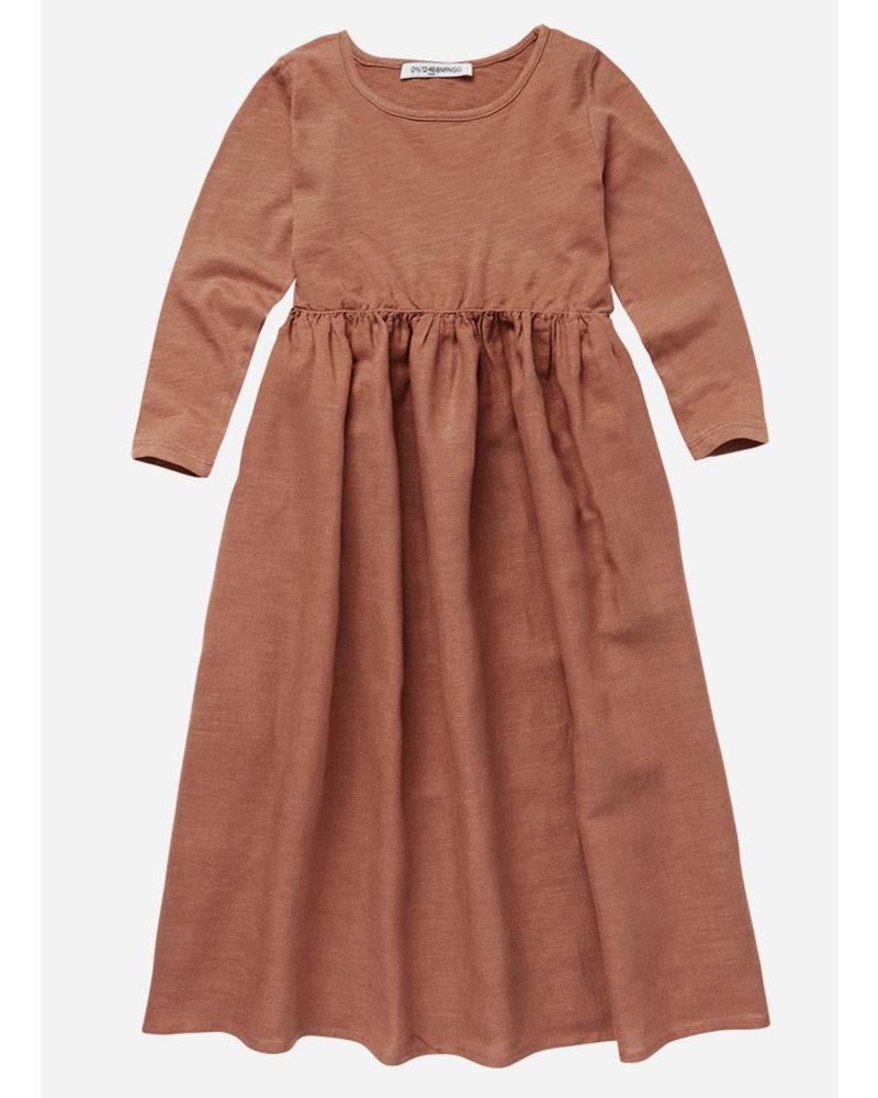 Mingo linen dress chocolate milk