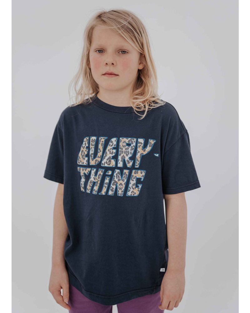 Repose tee shirt dark night blue