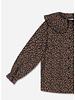 Repose fancy collar blouse pop mini flower