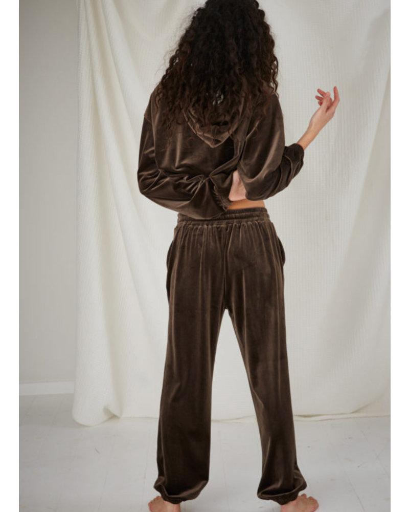 Designer Remix Girls frances sweatpants mud