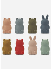 Liewood jim finger puppets 8pack  -  multi mix
