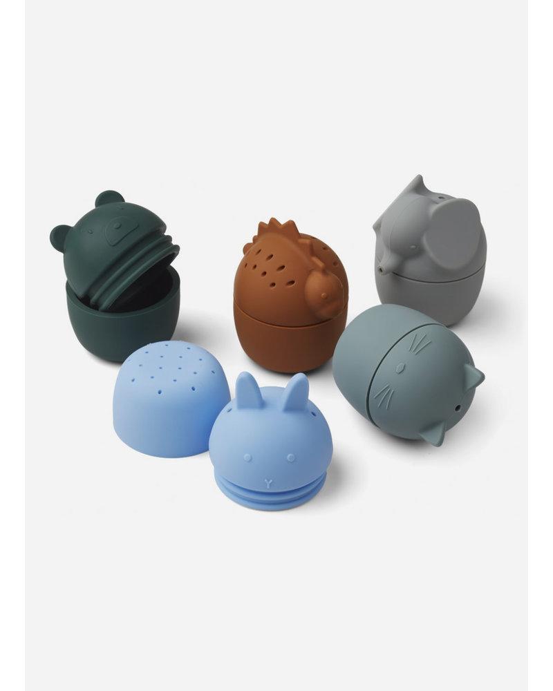 Liewood gaby bath toys blue multi mix
