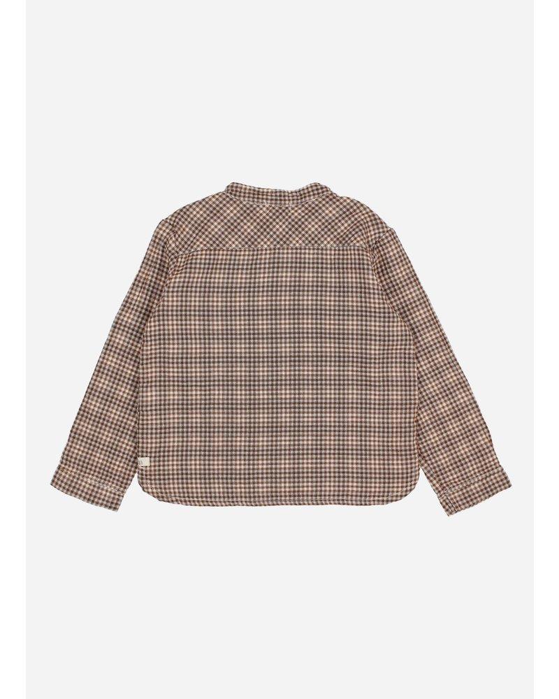 Buho vichy kurta shirt mini vichy