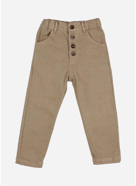 Buho twill pants olive