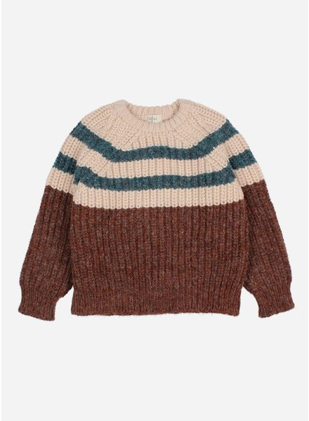 Buho stripes knit jumper only