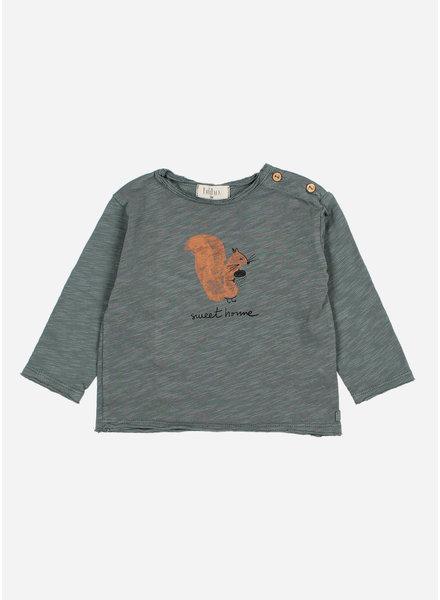 Buho squirrel tshirt north sea