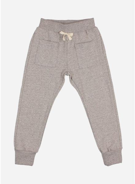 Buho soft jersey pants stone