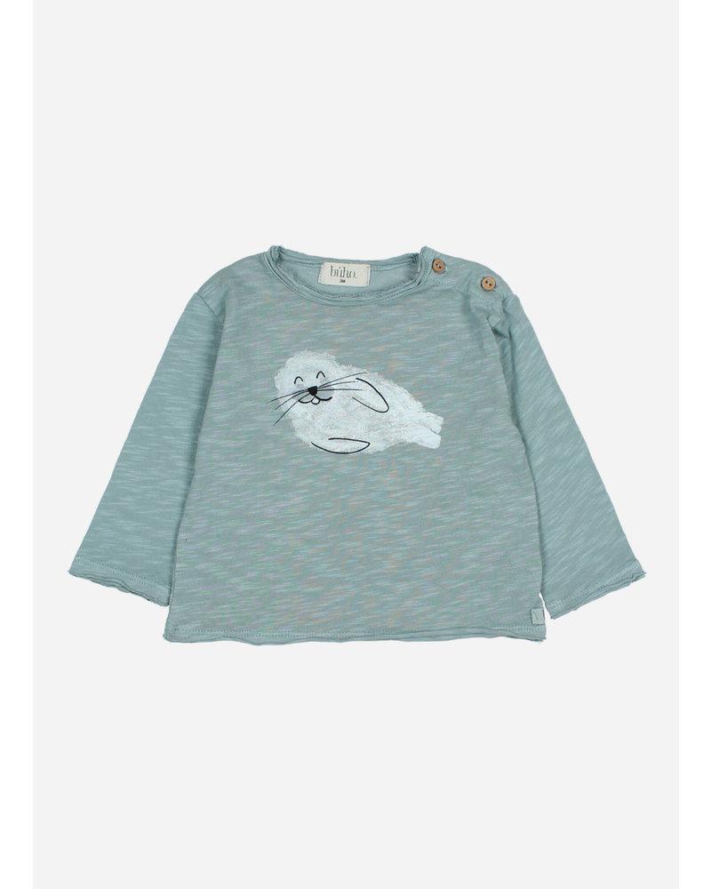 Buho seal tshirt strom grey